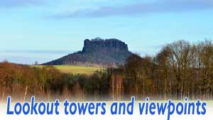 Lookout towers and viewpoints